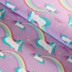 unicorns jersey fabric