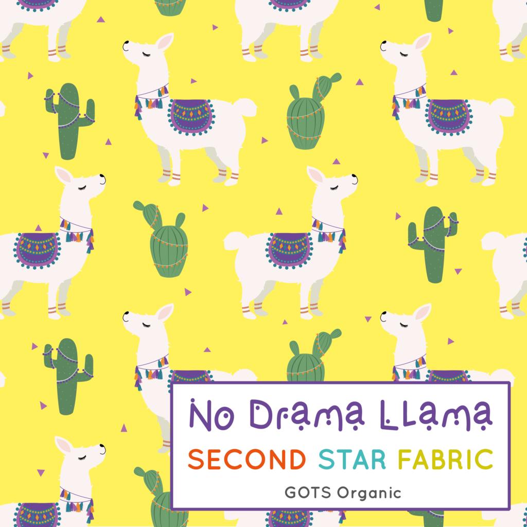 Llamas jersey fabric