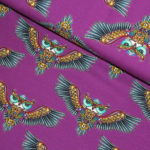 owls jersey fabric