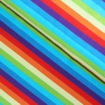 rainbow stripe jersey fabric
