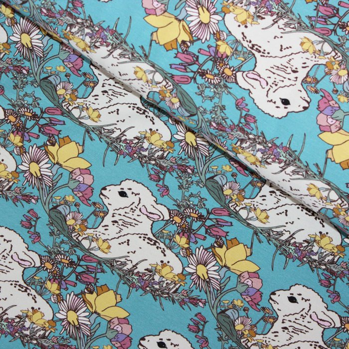 spring jersey fabric