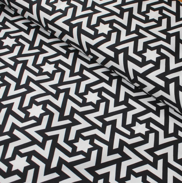 monochrome jersey fabric