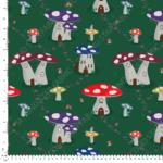 mushroom jersey fabric