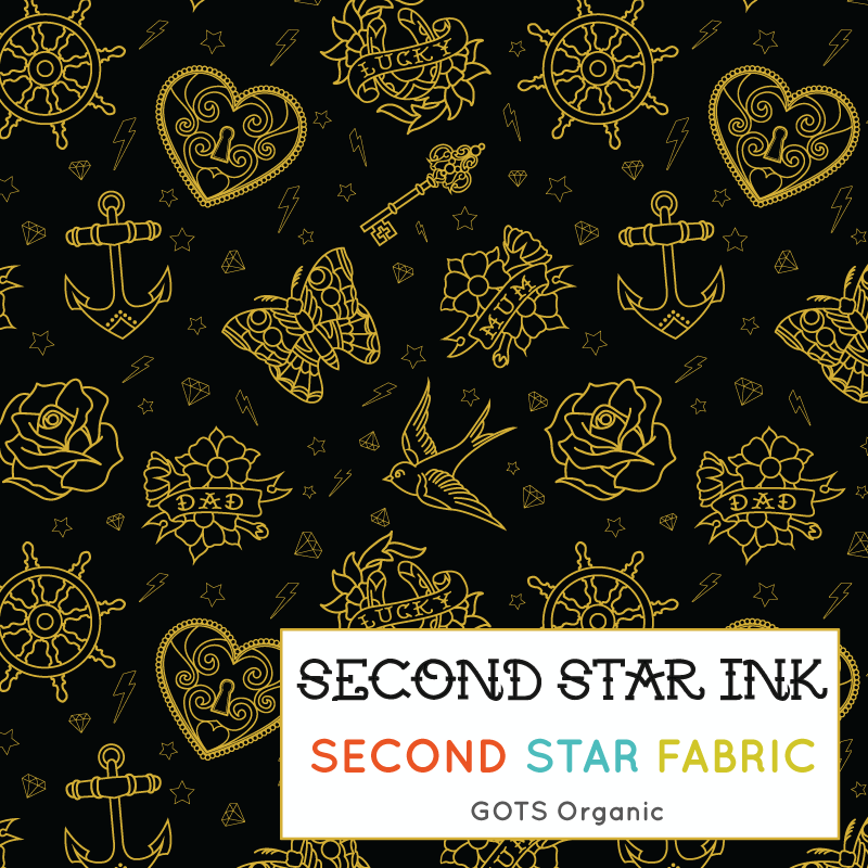 tattoo jersey fabric