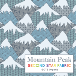 Mountain jersey fabric