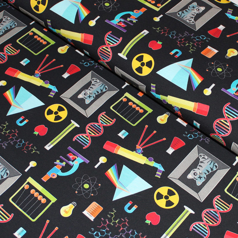 Science jersey fabric