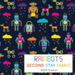 robot jersey fabric
