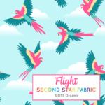 Birds Organic Jersey Fabric