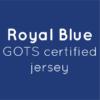 Royal Blue Organic Jersey