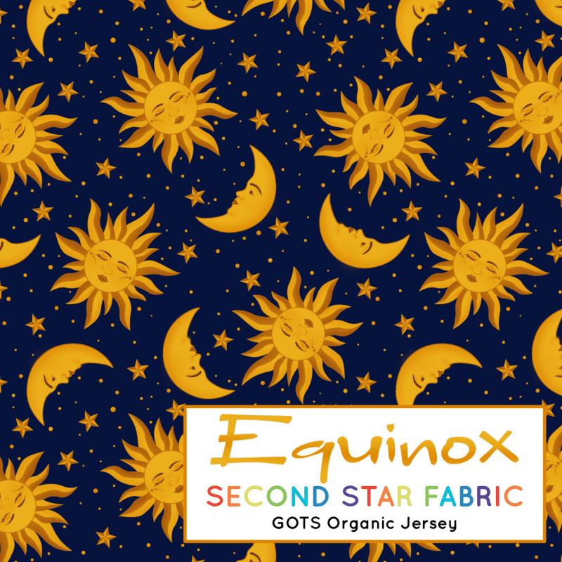 sun and moon fabric